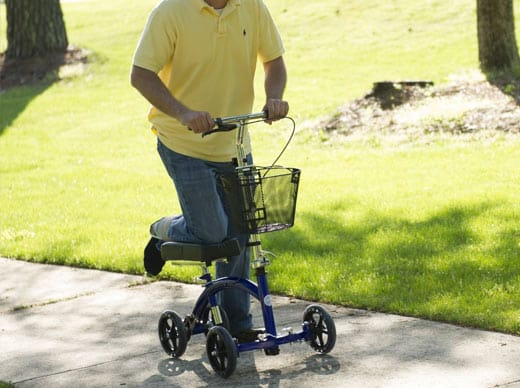 Knee Walker Knee Scooter Knee Cycle Leg Walker Crutch Alternative