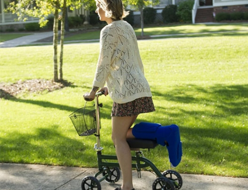 Main Benefits of a Knee Scooter