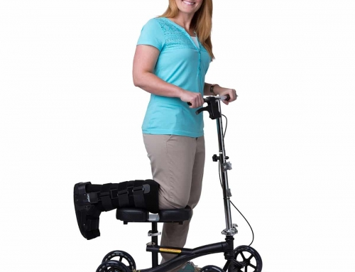 Knee Scooters and Leg Trolleys
