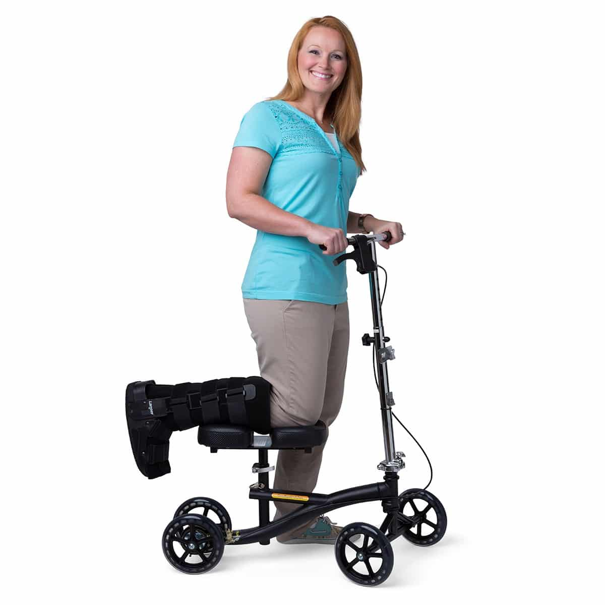 Knee Scooters a relatively recent invention, and are designed to aid in rehabilitation of those with foot and ankle injuries